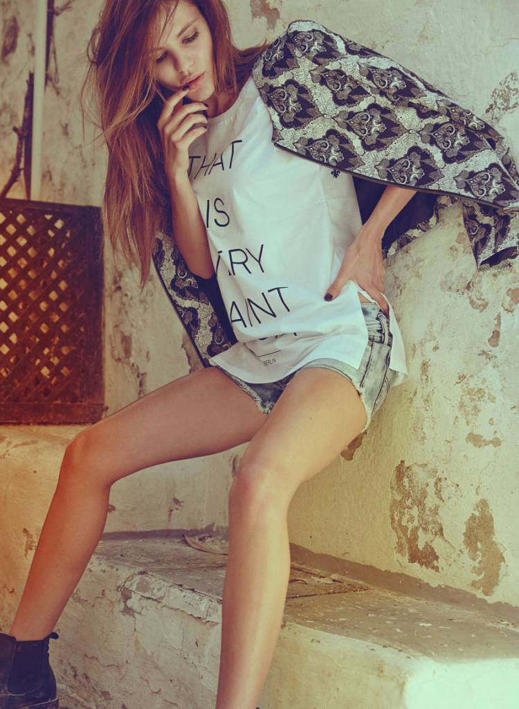 Longshirt Damen - Very Saint
