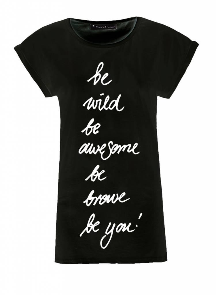 Longshirt Damen - Be You