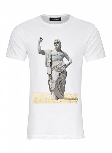 T-Shirt Herren - Beach - Statue Collection