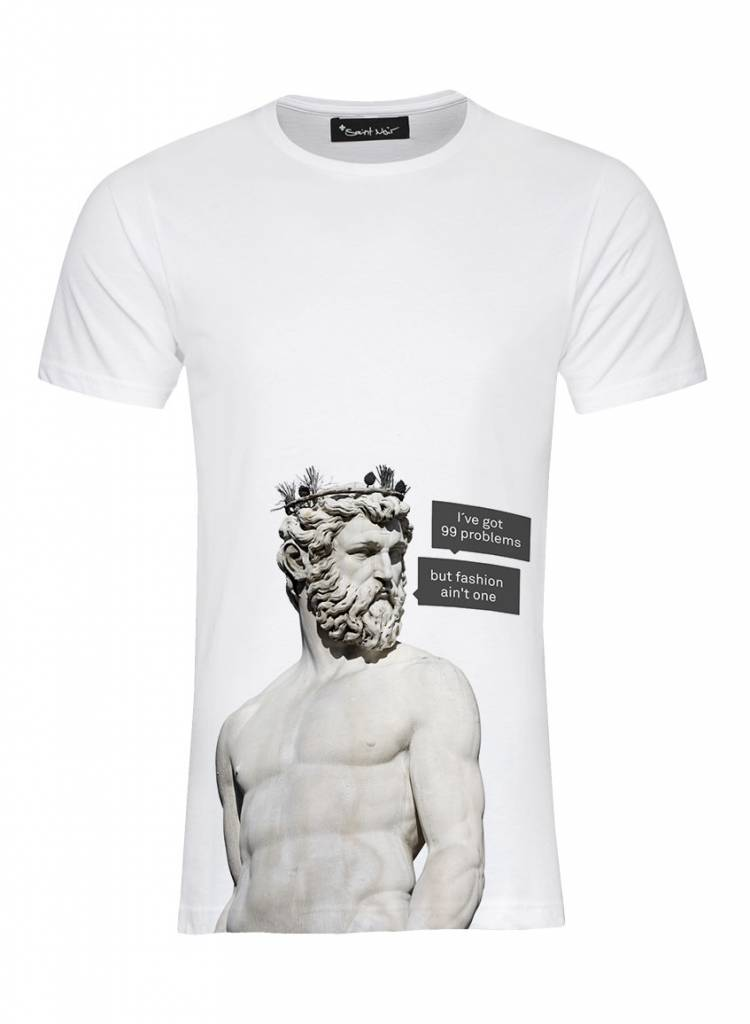 T-Shirt Herren - 99 Problems - Statue Collection