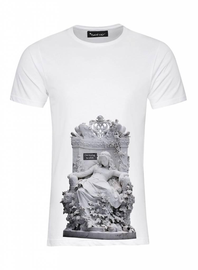 T-Shirt Herren - Chill - Statue Collection