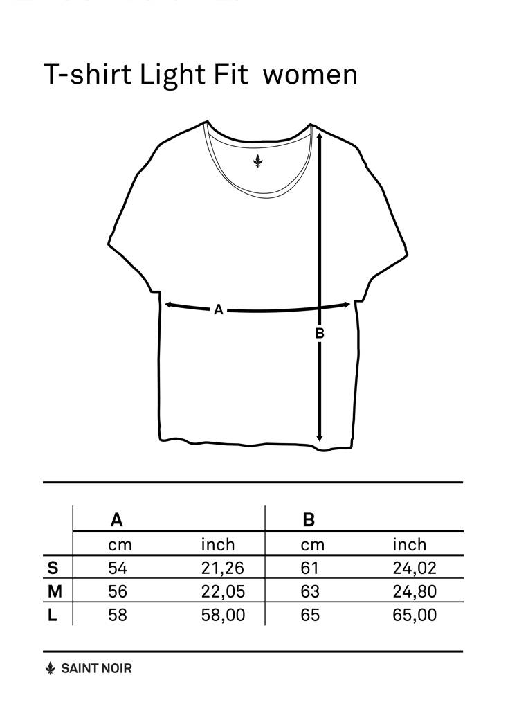 T-Shirt Light Fit Damen - Tattoo