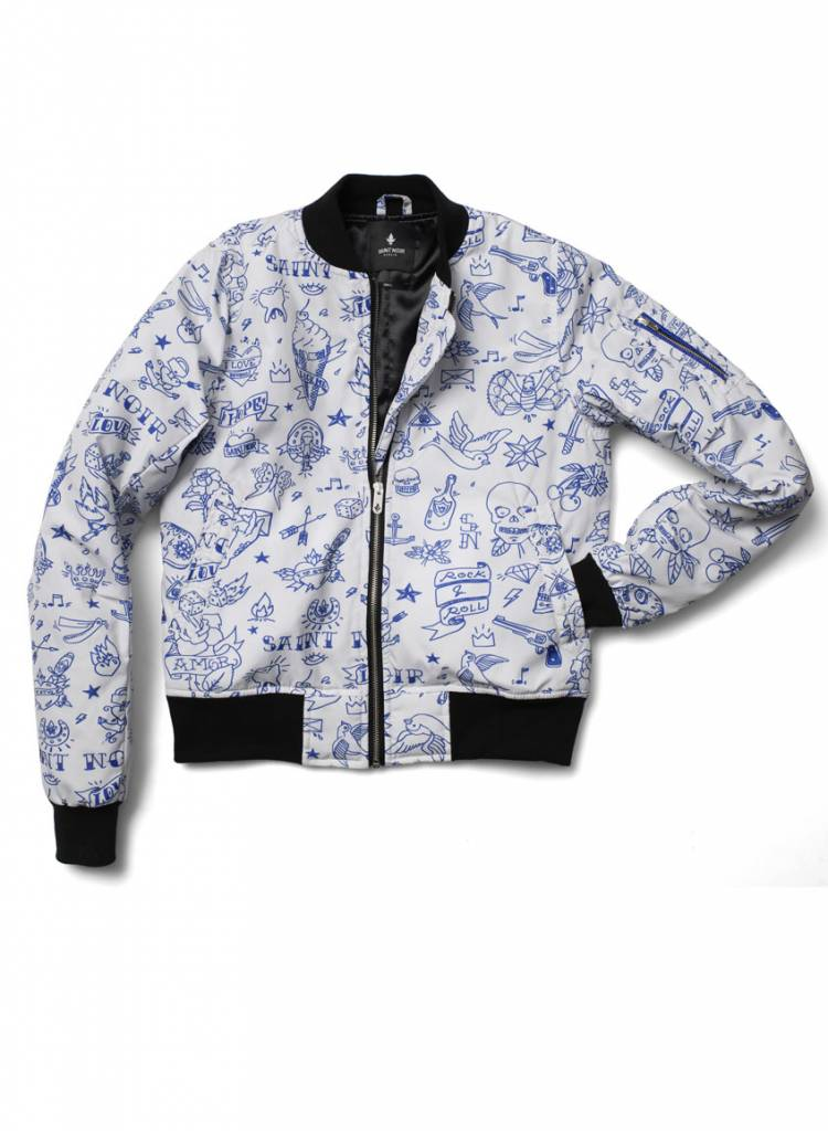 Bomber Jacket Women - Tattoo Rev