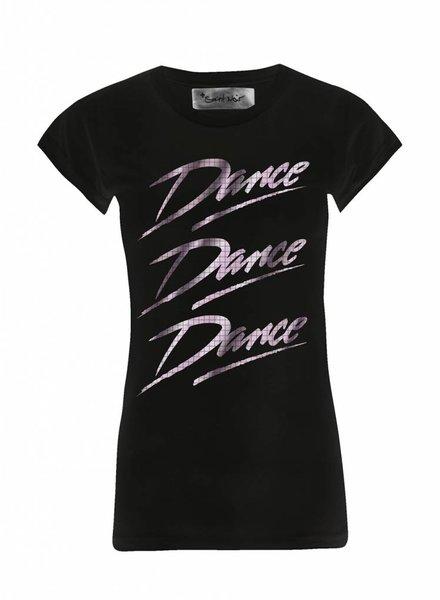 T-Shirt Skinny Cut Women - Dance