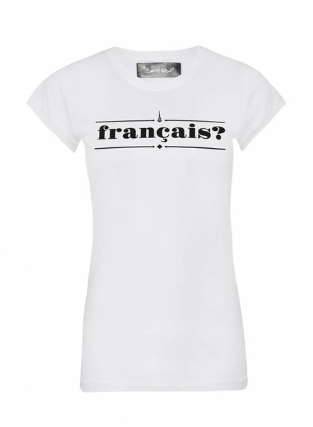 T-Shirt Skinny Cut Women - Francais?
