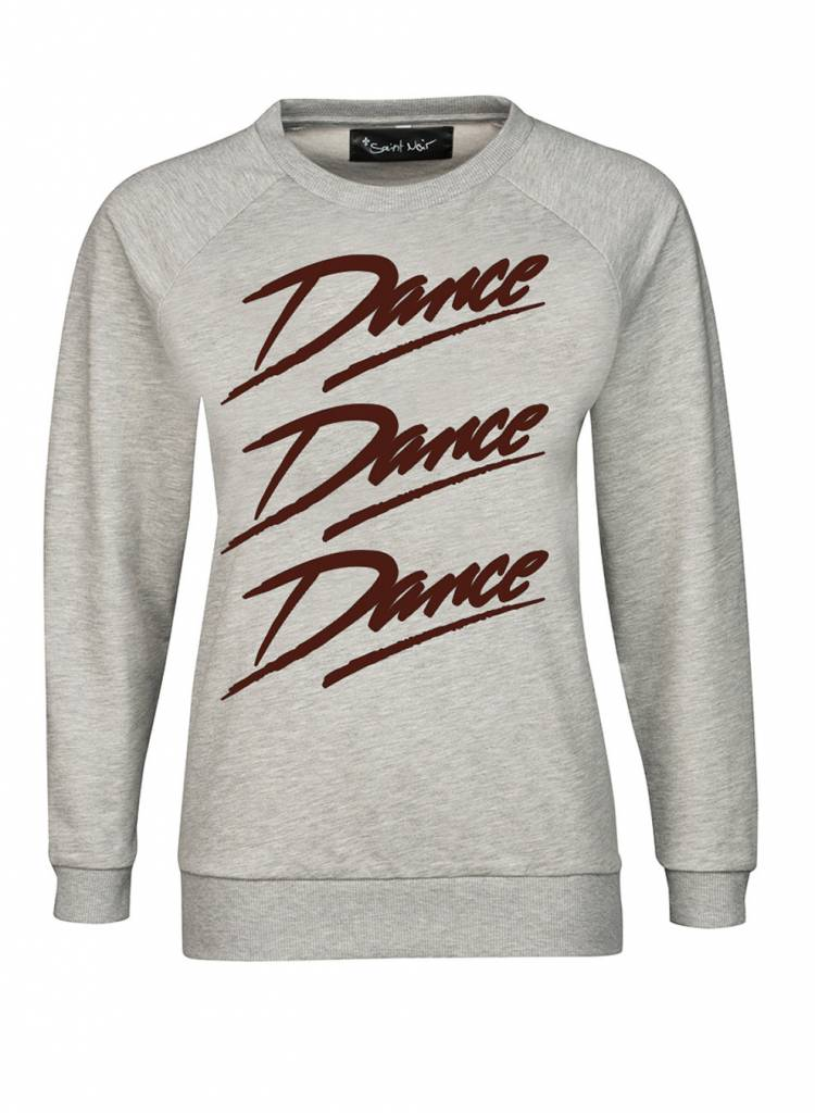 Sweatshirt Classic Cut Damen - Dance