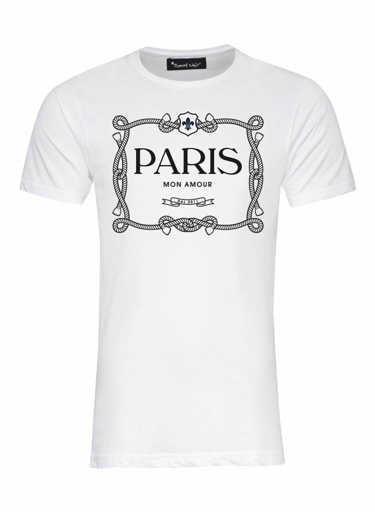 T-Shirt Herren - Paris Mon Amour