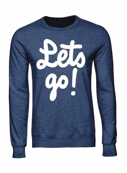Sweatshirt Men - Let's Go