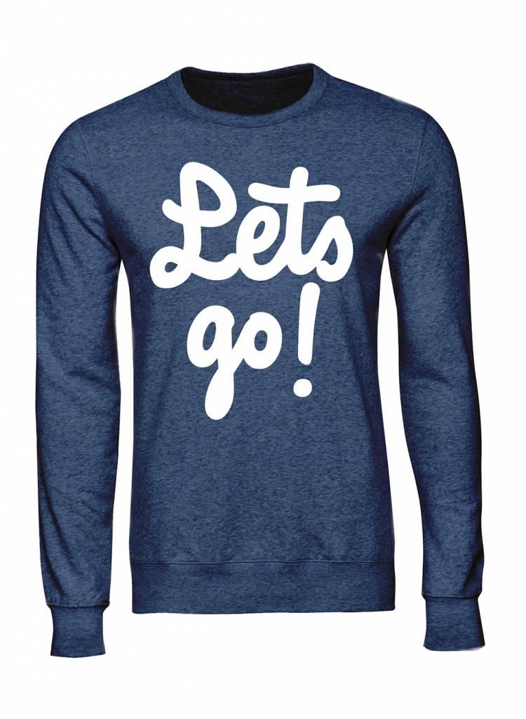 Sweatshirt Herren - Let's Go