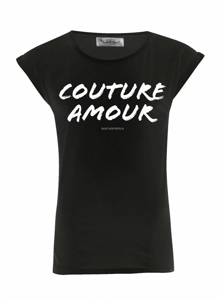 T-Shirt Rolled Sleeve Damen - Couture Amour
