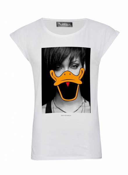 T-Shirt Rolled Sleeve Damen - Robyn - Duck Faces