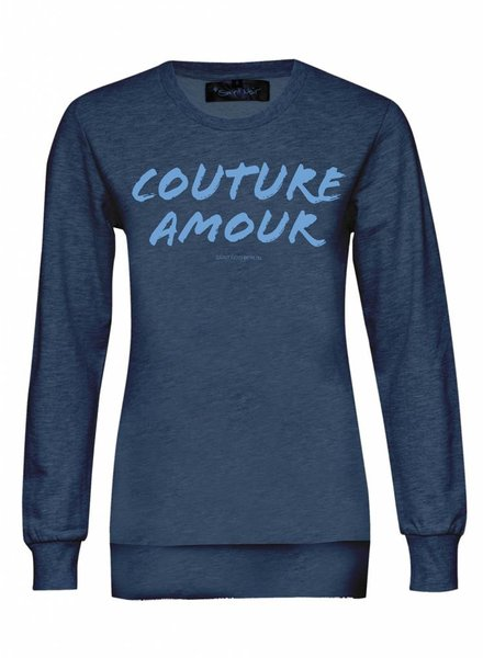 Sweatshirt Classic Cut Women - Couture Amour