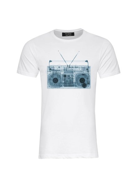 T-Shirt Herren - Ghettoblaster - Nick Veasey Collection