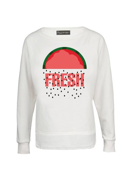 Sweatshirt Longback Women - Fresh