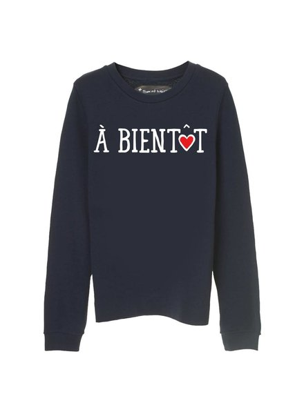 Sweatshirt Straight Fit Women - À Bientôt