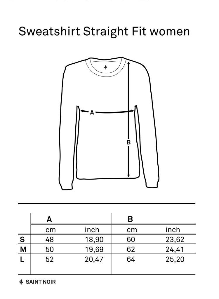 Sweatshirt Straight Fit Damen - À Bientôt