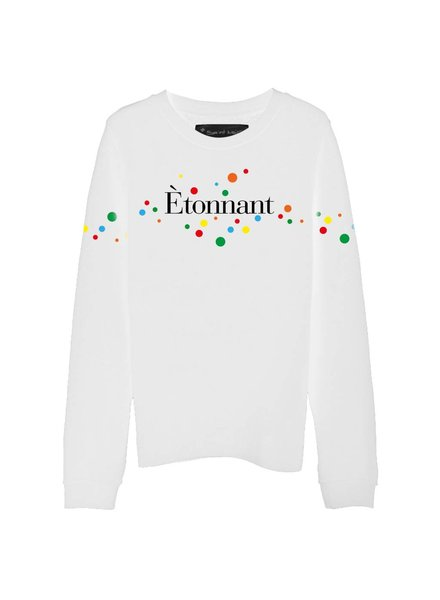 Sweatshirt Straight Fit Damen - Étonnant