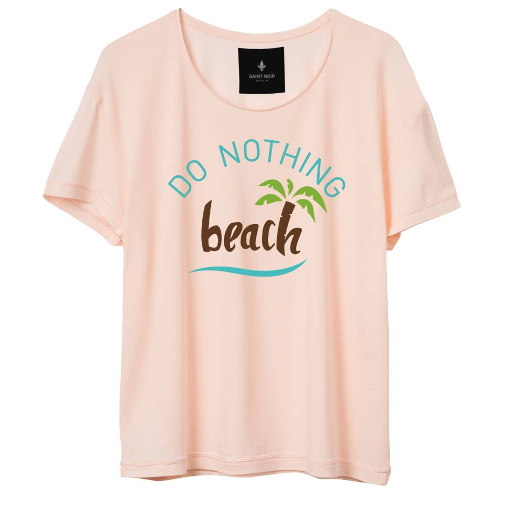 T-Shirt Light Fit Damen - Do Nothing