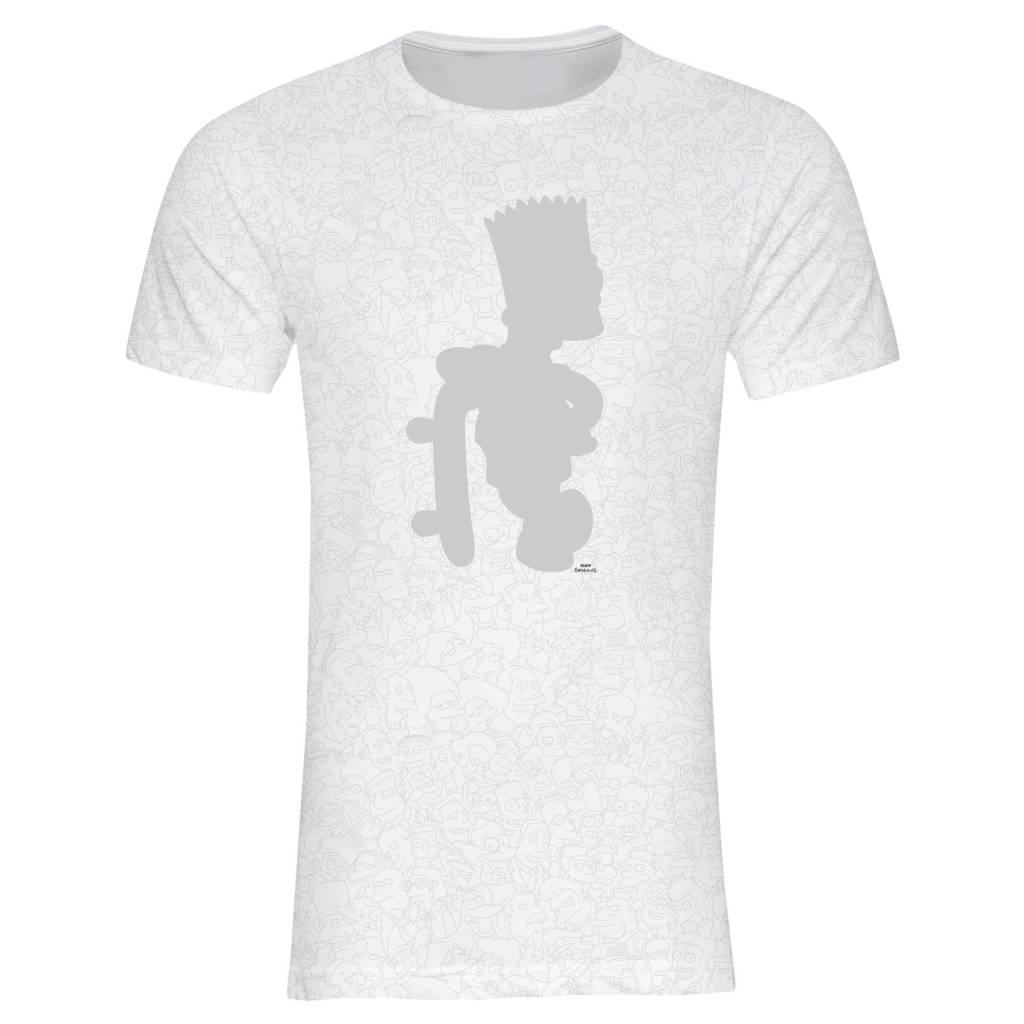 T-shirt Men - Bart - Simpsons Collection