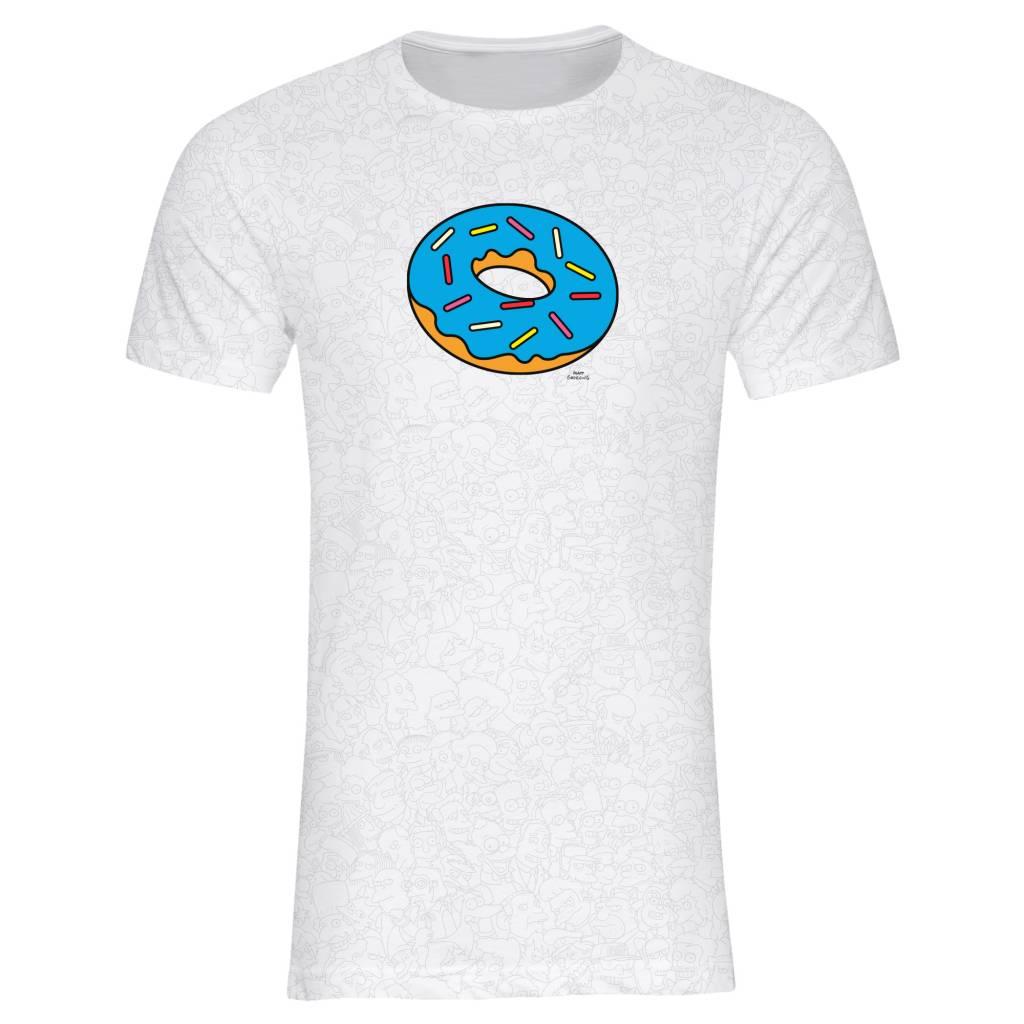 T-shirt Men - Donut - Simpsons Collection