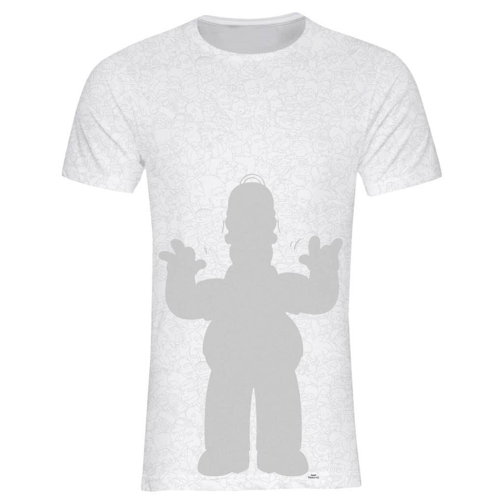 T-shirt Men - Homer - Simpsons Collection