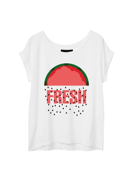 T-shirt Round Neck Women - Fresh