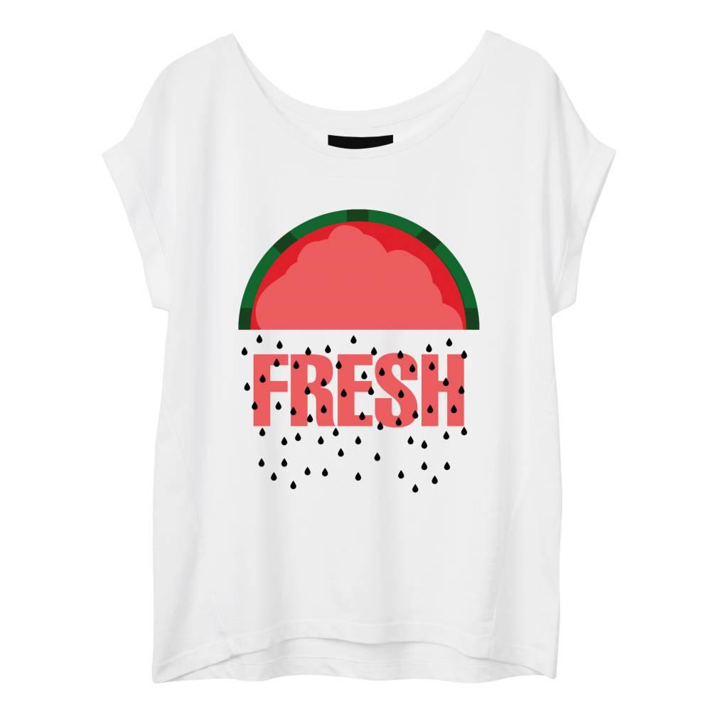 T-shirt Round Neck Women - Fresh