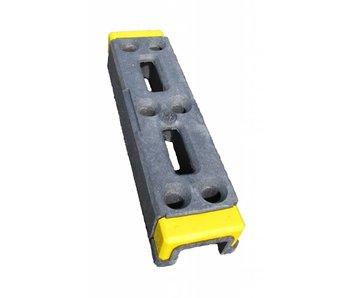 Kunststof bouwhekvoet (met Signalering) 15 kg