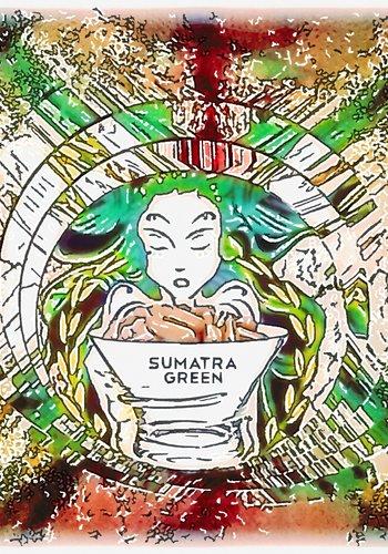 Sumatra green  Kapseln
