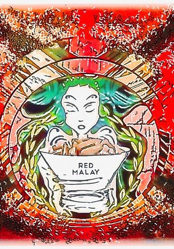 Red  Malay Kapseln