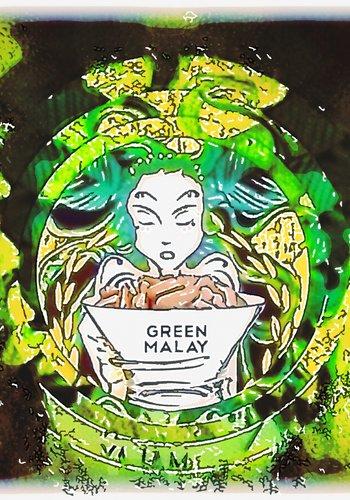Green Malay Kapseln