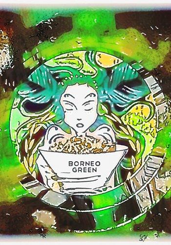 Borneo green