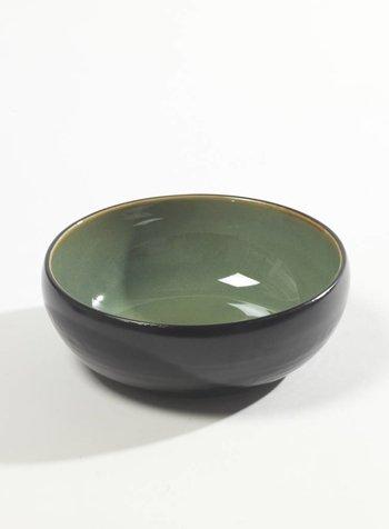 Pascale Naessens - Aqua Green / Zwart Kommetje zwart/turqoize M (per 2)
