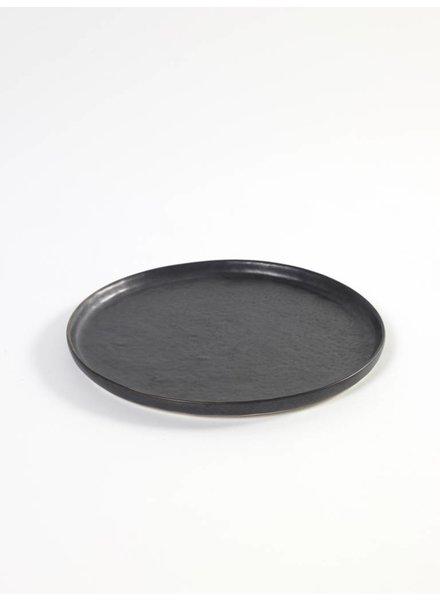 Pascale Naesssens - Pure Zwart Bord Rond S - zwart (per 2)