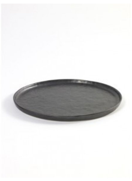 Pascale Naesssens - Pure Zwart Rond bord Medium - zwart  (per 2)