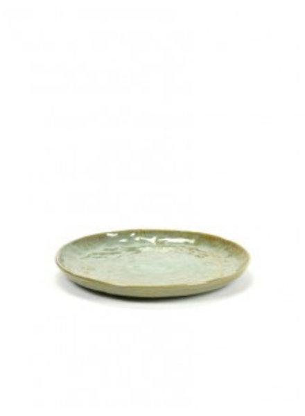 Pascale Naessens - Pure Green Bord M - zeegroen (per 4)