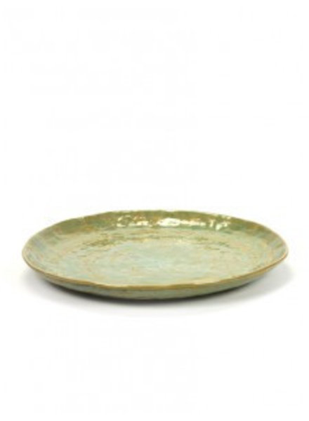Pascale Naessens - Pure Green Bord L - zeegroen (per 2)