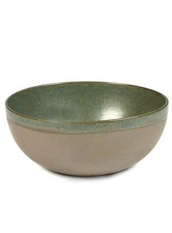 Sergio Herman - Surface BOWL L SURFACE D23,5 H9,5 CAMOGREEN