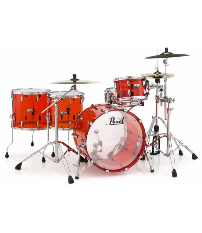 Pearl  CRB524FP / C731 Crystal Rock Beat drums Ruby Red