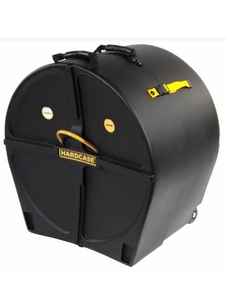 HARDCASE HN22B HC 22'' Bassdrum case  wheels & pull handle