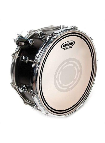"""Evans B14EC1RD EVANS 14 """"EC1 REVERSED DOT Coated snare drum tom drum head"""