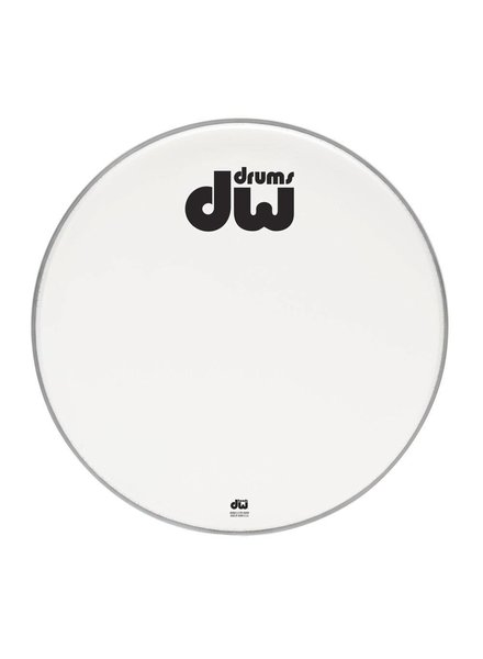 "DW drumworkshop DW Bass Drum vorderen Kopf Bilayer weiß beschichtet 23 ""DRDHACW23K"