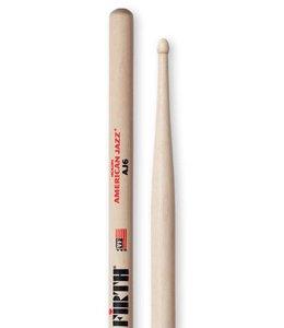 Vic Firth AJ6 American jazz hickory drumsticks