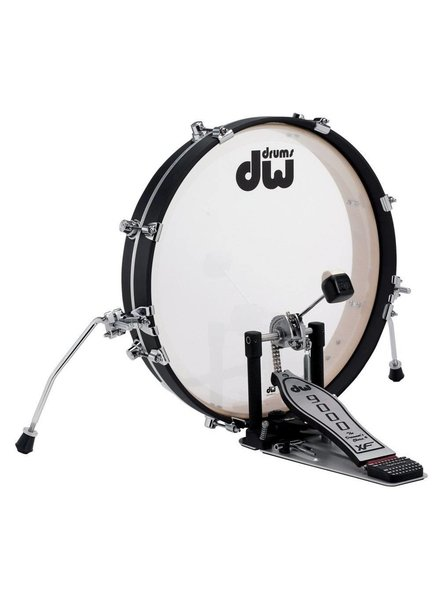 DW drumworkshop PANCAKE DDBD0320BLCR - DESIGN SERIE BASS DRUM 20 x 2.5