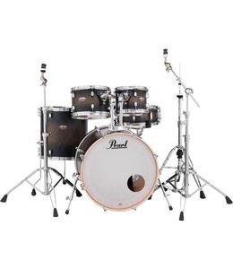 Pearl DMP925S/C262 DECADE Satin Black Burst drumstel incl. HWP830 hardwarepack