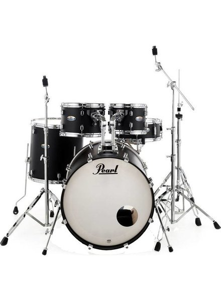 Pearl DMP925S / C227 DECADE Satin Black Slate drums incl. HWP830 hardware pack