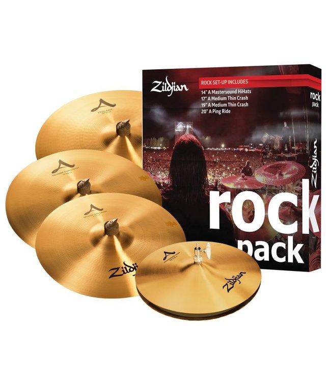 Zildjian  Cymbal set, A , Rock Pack, 14H/17+19Cr/21R
