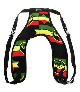 Djembe band tuig back pack  Rasta