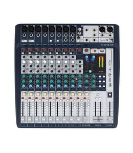Soundcraft Signature 12 mixer mengpaneel