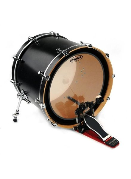 """Evans BD22EMAD2 Emad2 Clear Bassdrum Vel 22 """""""